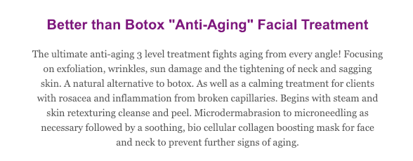 Anti-Aging Facial Treatment